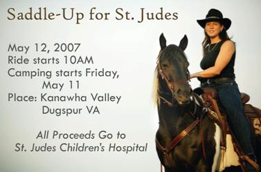 Saddle-Up for St. Judes
